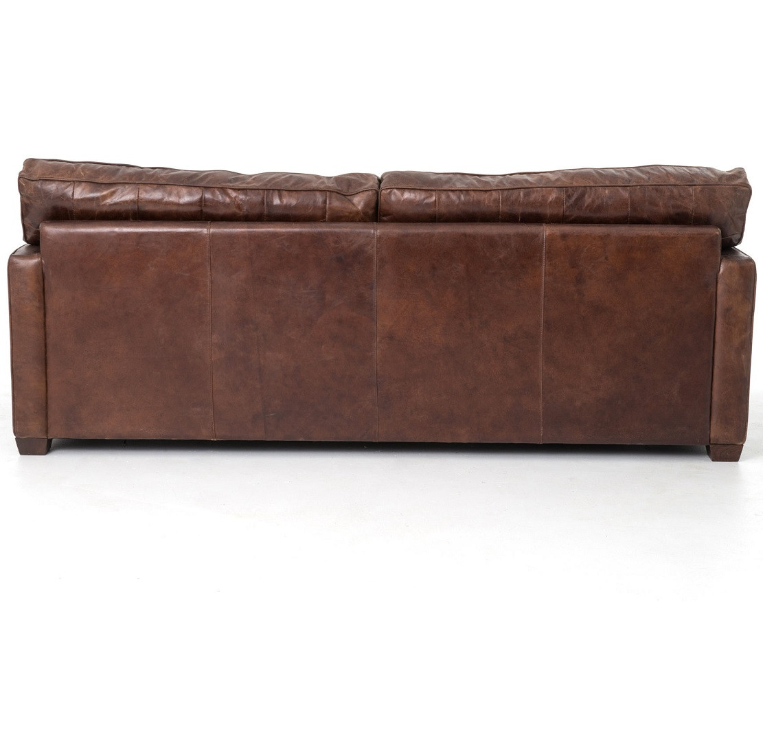abbott vintage cigar tufted leather sofa with recliners slipcover odelia sofas