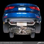 Awe Tuning Touring Edition Exhaust For 2015 Audi A3 Dual Outlet Diamond Black 90 Mm Tips Etektuning Com