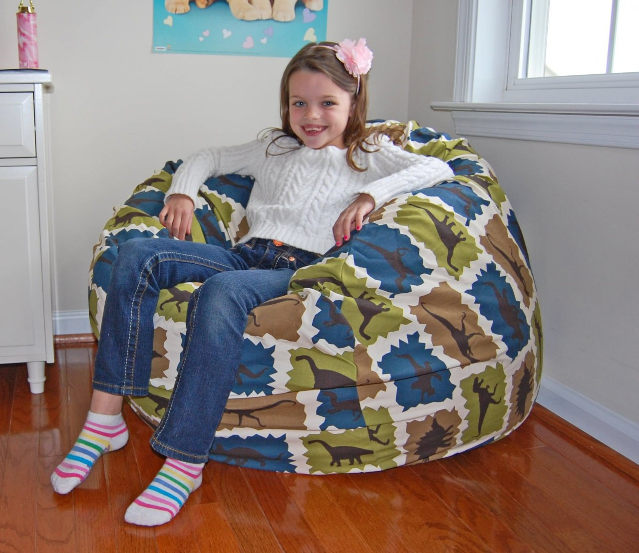 buy bean bag chair diy cushions washable dinosaurs cotton chairs for kids