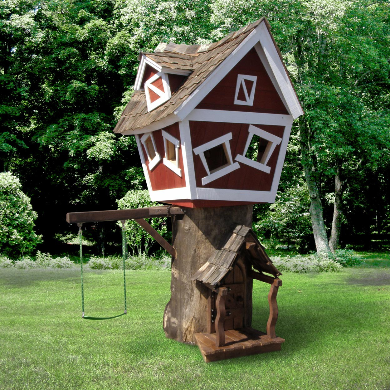 Kids Playhouse Image in Tree House