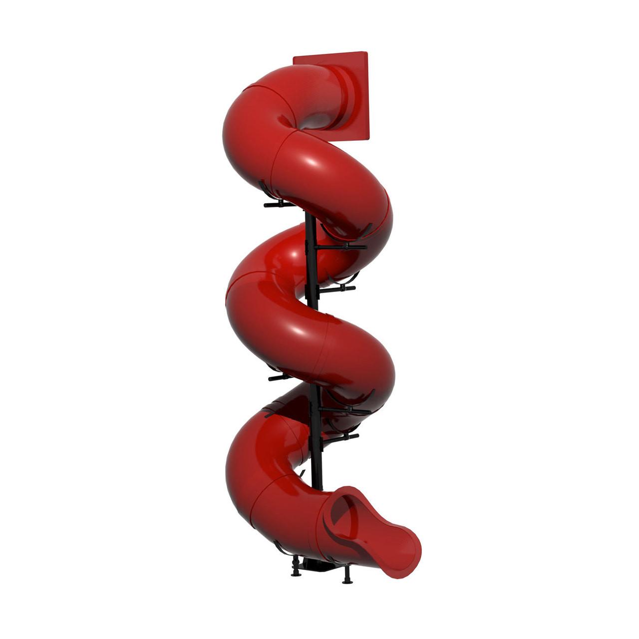 slides 16' Spiral Tube Slide - SwingSetMall.com