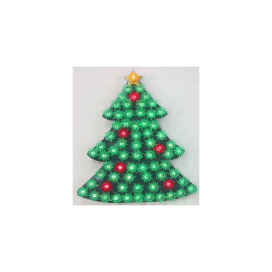 70lt 2D Christmas Tree Window Mold #03322