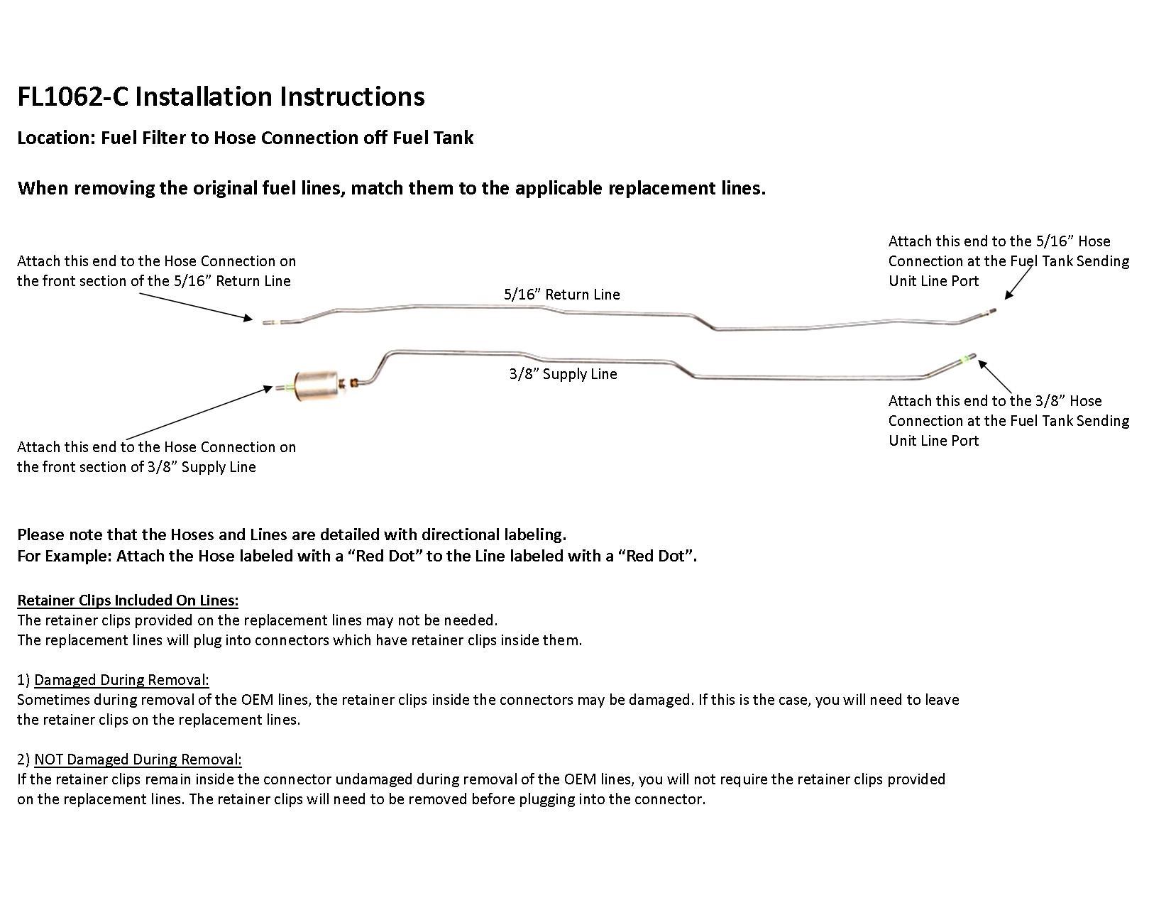 hight resolution of 97 99 s10 sonoma installation instruction fl1062 c