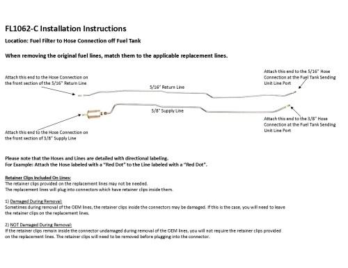 small resolution of 97 99 s10 sonoma installation instruction fl1062 c