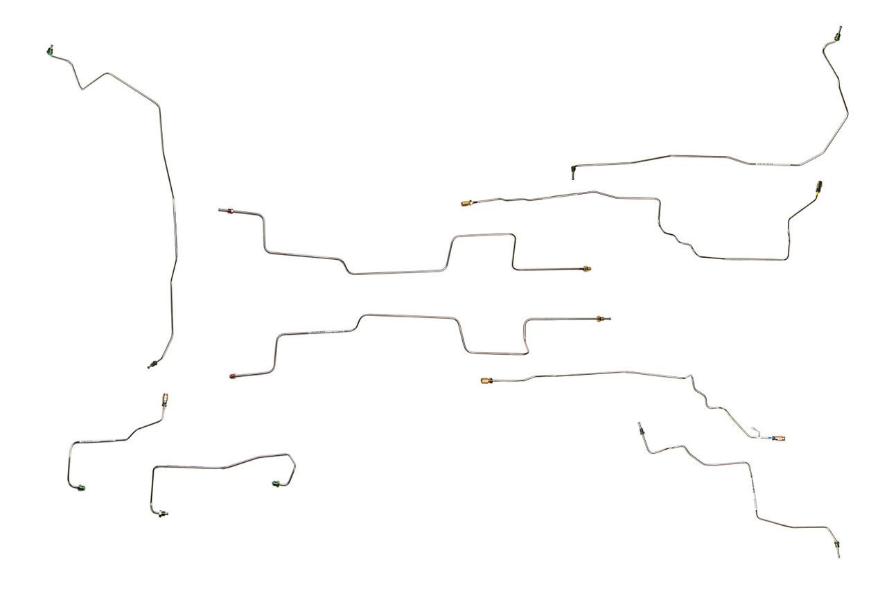 medium resolution of aztek base brake line 2003 w abs front disc rear drum only 3 4l