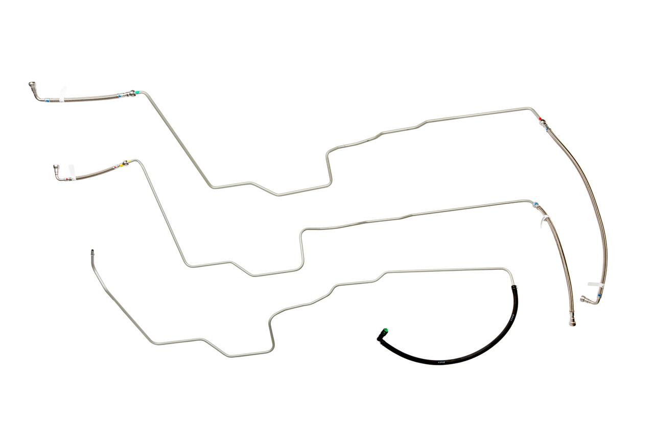 small resolution of trailblazer trailblazer ext fuel line 2002 4 2l w o remote fuel filter w