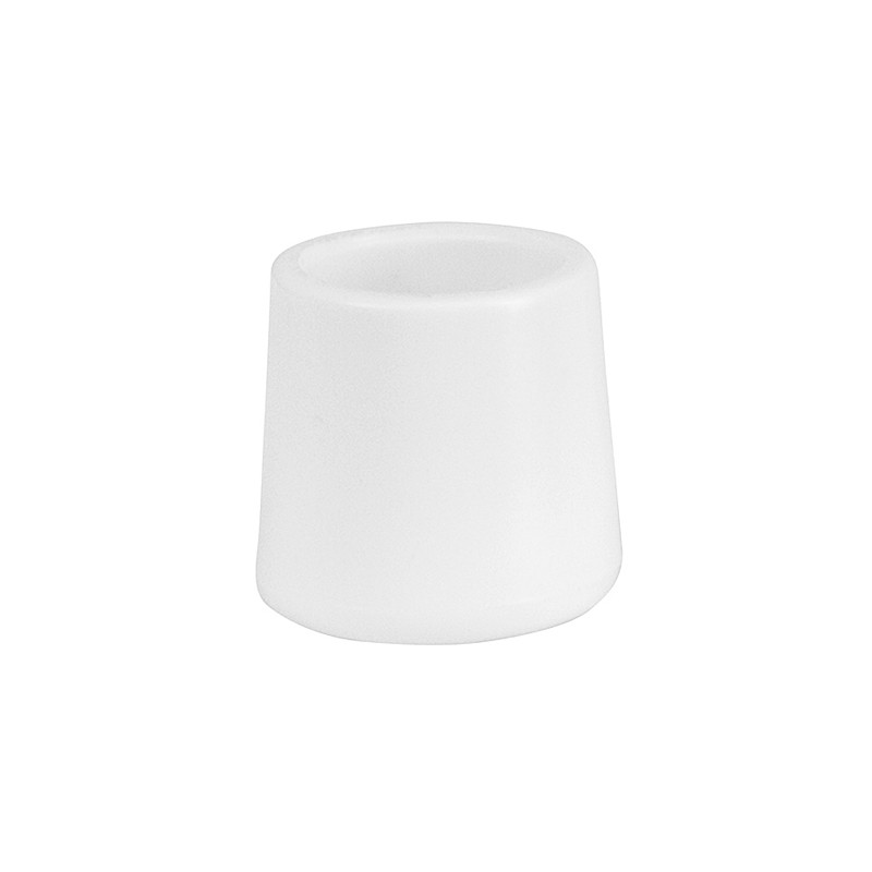 folding chair foot caps graco tablefit high finley white replacement cap for plastic chairs events wholesale loading zoom