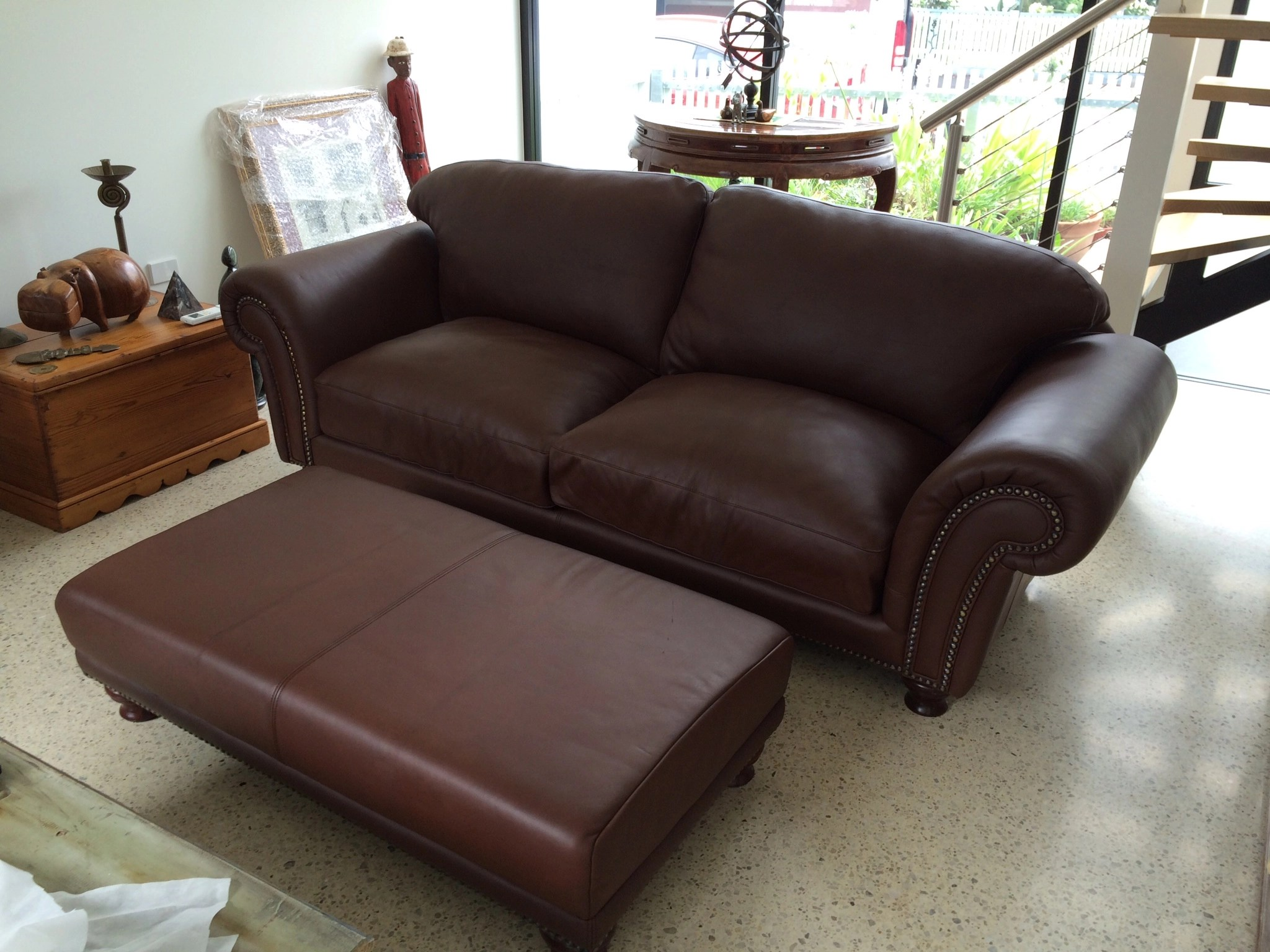 restoring leather sofa norwalk sofas couch restoration cost