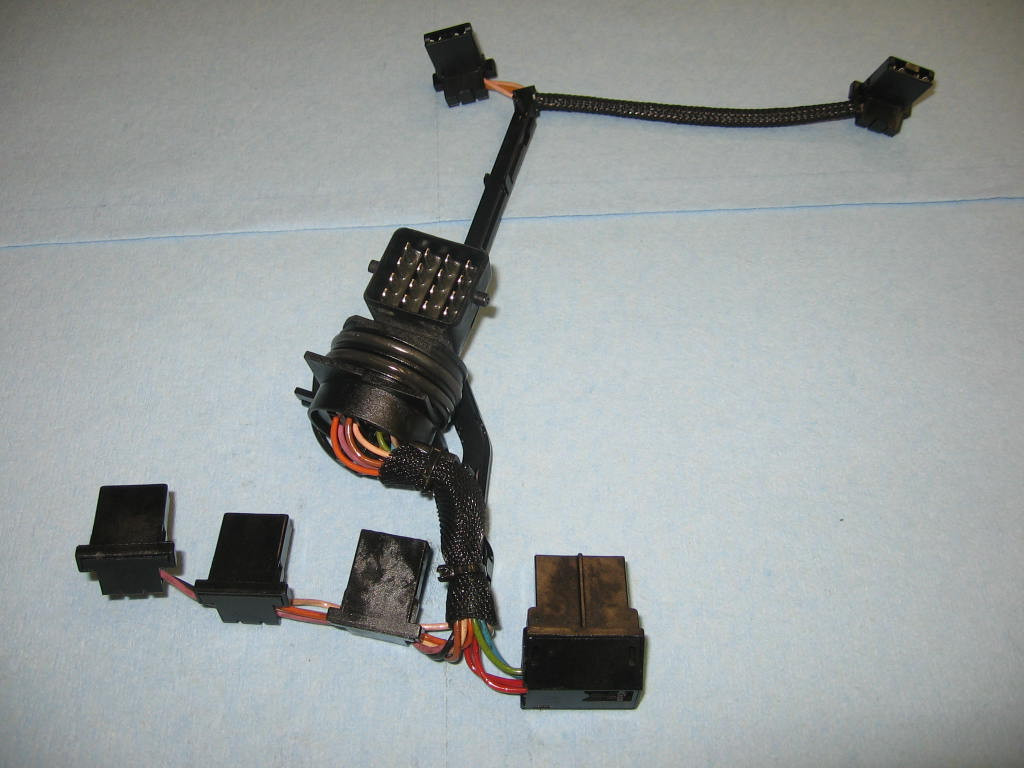 small resolution of 5r55e ford internal wiring harness w connector 95 up 4r55e ken