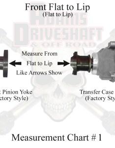 Jk jl front measurement chart  also adams driveshaft  rear cv package with rh adamsdriveshaftoffroad