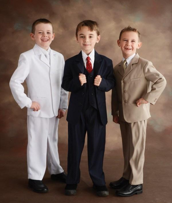 Communion Boys Suit Apparel