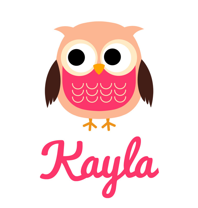 Cute Mother And Baby Wallpapers Girl S Name Pink Owl Baby Tee Personalised Products