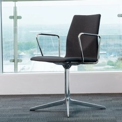 Swivel Office Chair Without Arms Folding Ground Blind Ocee Fourcast Range - Think Furniture