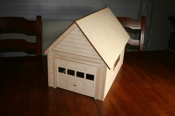 Standard 1quot Scale Garage Kit Victorian Dollhouse