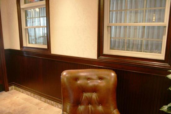 Installed Wainscoting Commercial