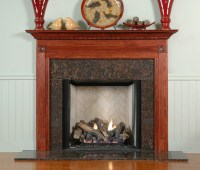 Wood Mantels for Fireplaces | Gardendale Custom