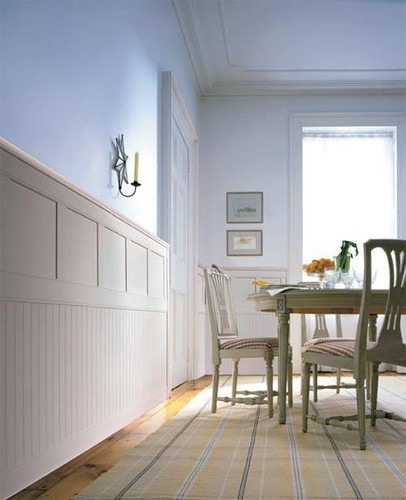 Classic Cottage Wainscoting  Twotiered Wainscot Panels