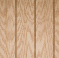 Red Oak Beaded Wainscot Wood Paneling | Unfinished