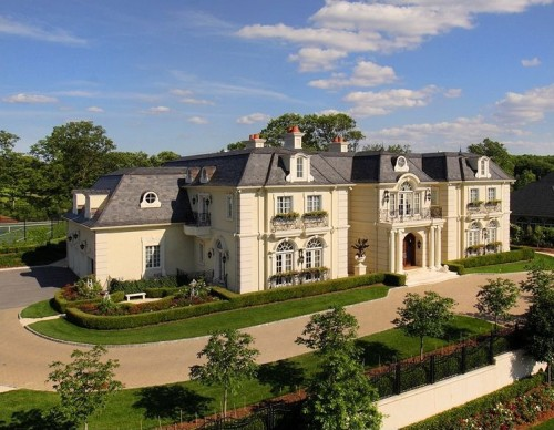 French Chateau Style Homes For Sale