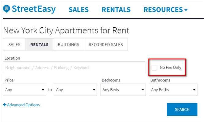 New York City No Fee Luxury Apartments Popular City 2017