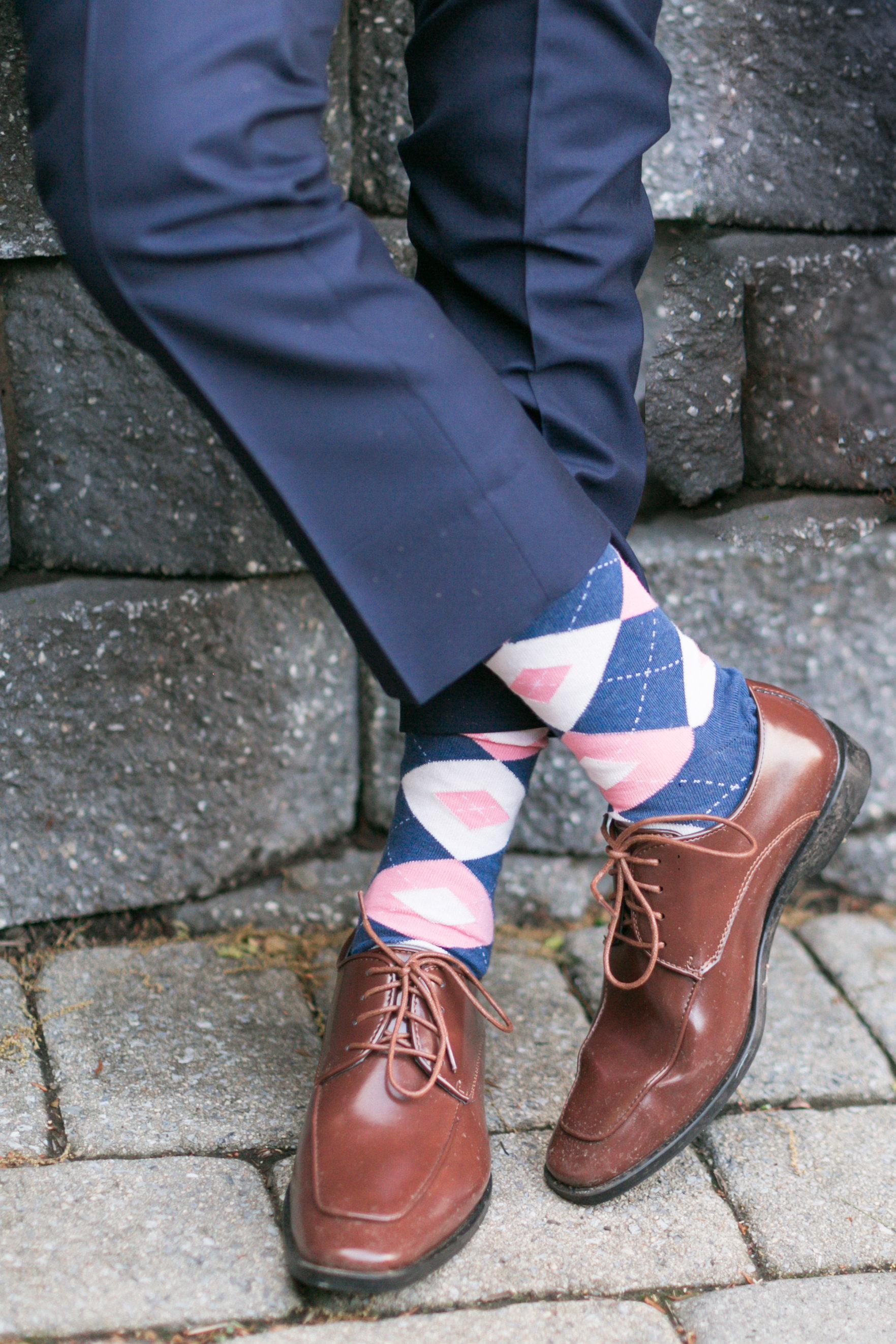 Groomsmen Wedding Socks  boldSOCKS