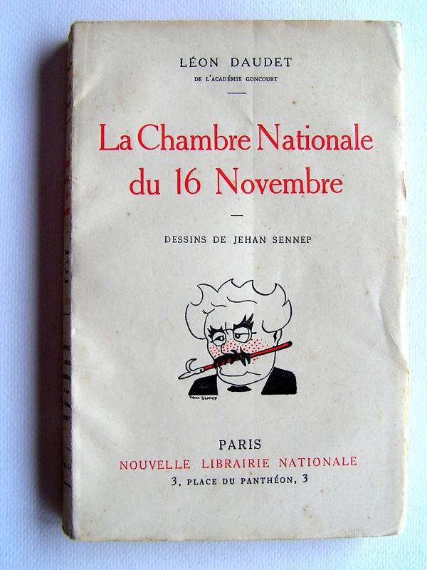 Lon Daudet  La Chambre nationale du 16 Novembre