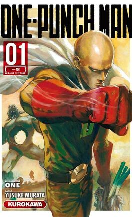 One Punch Man Tome 1 : punch, One-Punch, Livre, Yusuke, Murata,