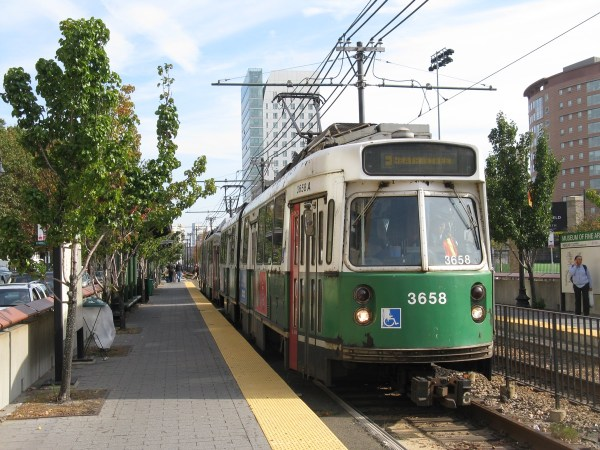 Boston MBTA Green Line Logo