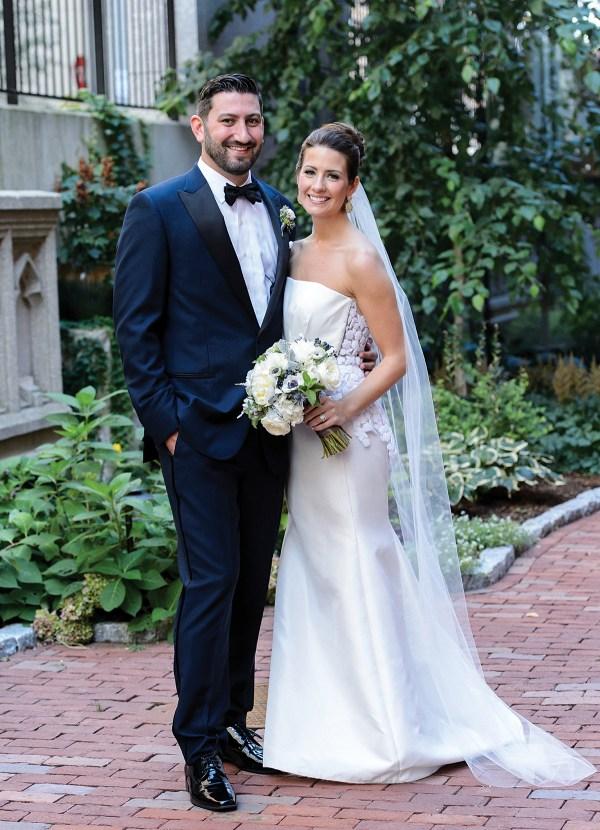 Real Wedding Ted Hughes & Caroline Brodette Boston Magazine