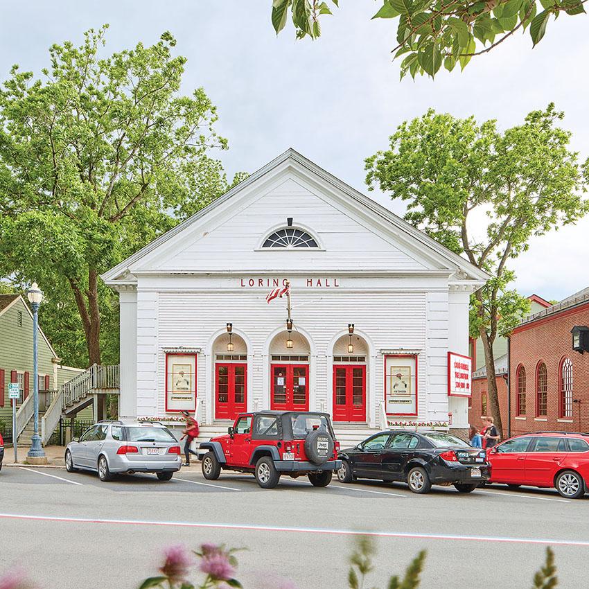 Loring Hall Cinema Best Movie Theater in Boston
