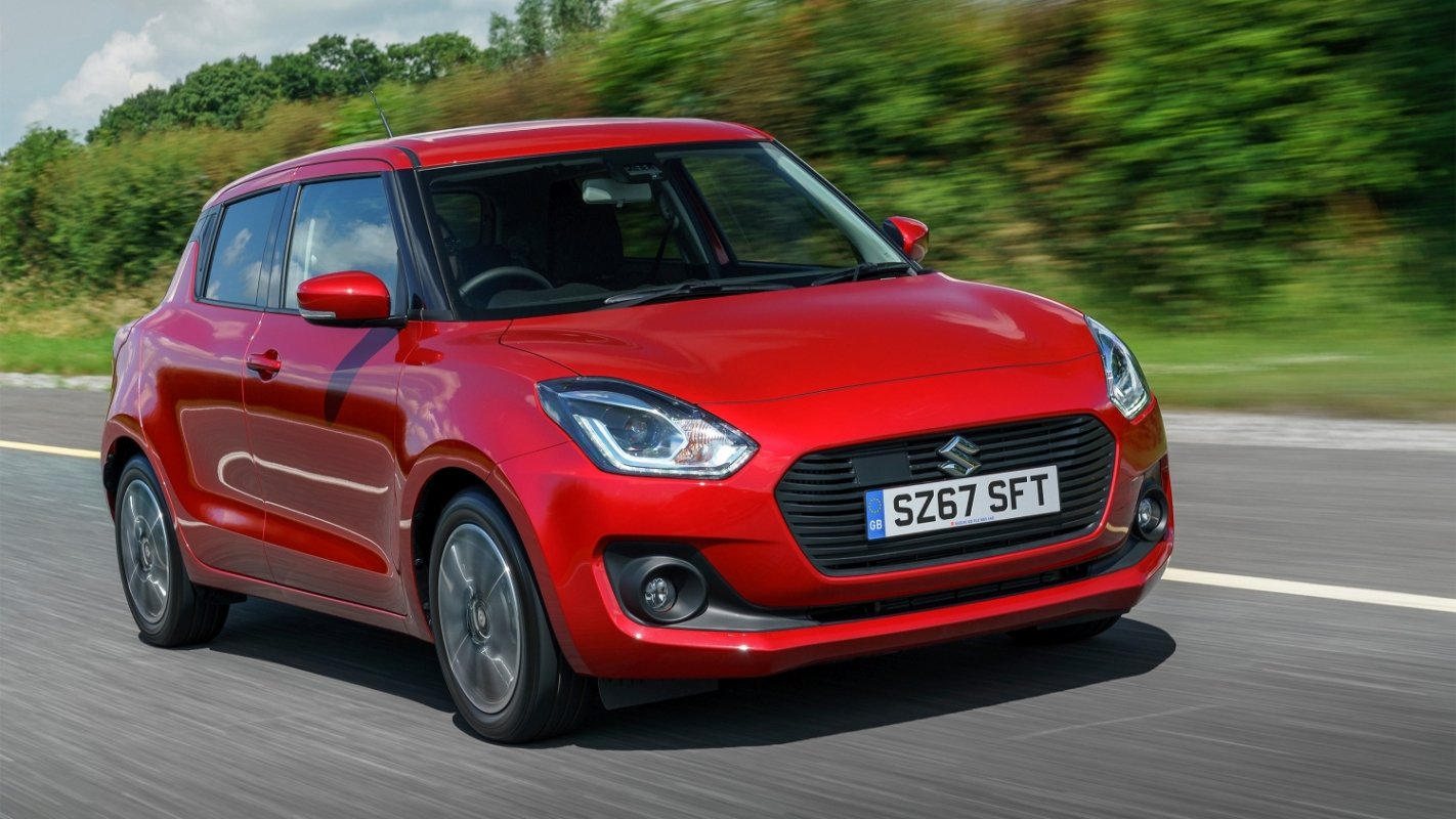 suzuki s swift is fun to drive economical and good looking but rivals have better interiors and more room [ 1422 x 800 Pixel ]