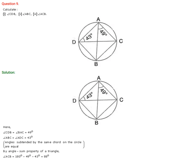 ICSE Solutions For Selina Class 10 Maths Chapter 17