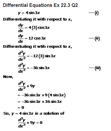 RD Sharma Class 12 Solutions Maths Chapter 22 Differential