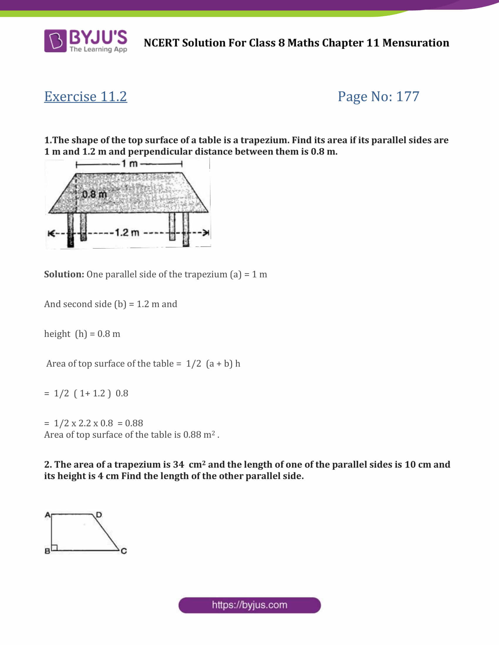 Ncert Solutions For Class 8 Maths Exercise 11 2 Chapter 11