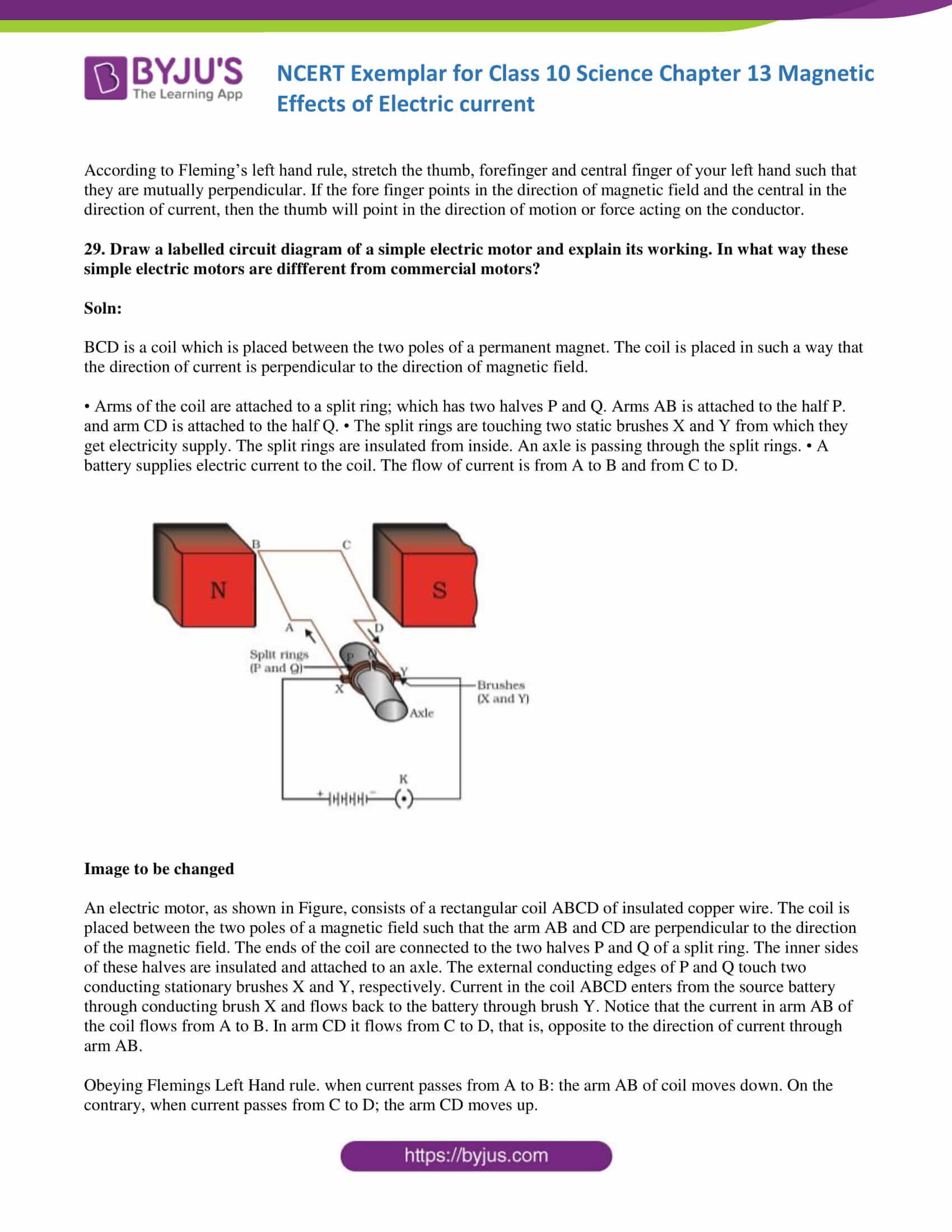 hight resolution of ncert exemplar solution class 10 science chapter 13 part 12