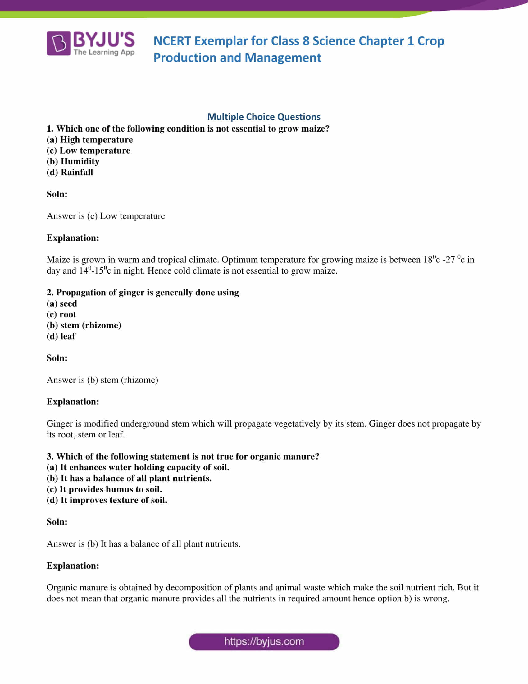Ncert Exemplar Class 8 Science Solutions Chapter 1 Crop
