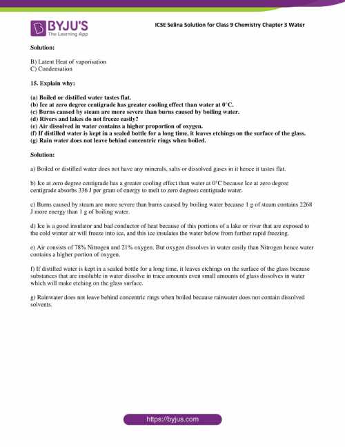 small resolution of Selina Solutions Class 9 Concise Chemistry Chapter 3 Water -Download Free  PDF