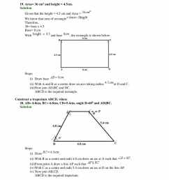 Selina Solutions Class 9 Concise Maths Chapter 15 Construction of Polygons  -Download Free PDF [ 2200 x 1700 Pixel ]