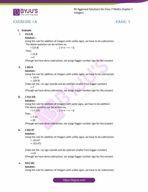 small resolution of Additive Inverse Worksheet 7th Grade   Printable Worksheets and Activities  for Teachers