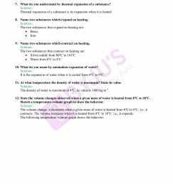 Selina Solutions Class 9 Concise Physics Chapter 6 Heat And Energy  -Download Free PDF [ 2200 x 1700 Pixel ]