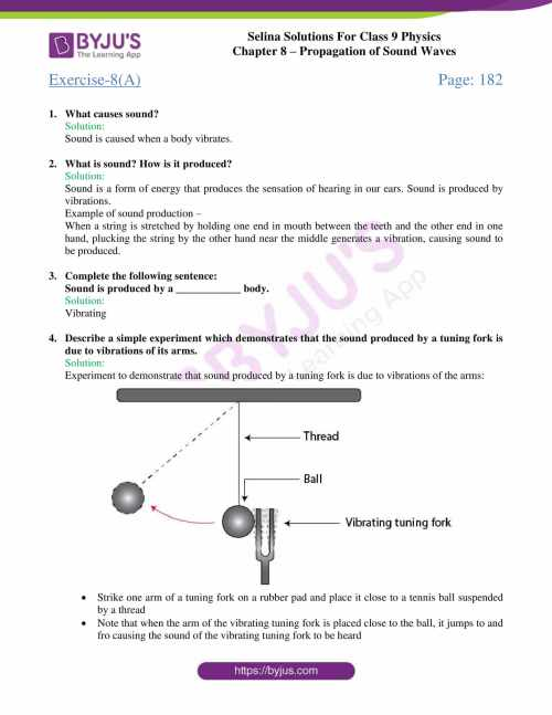 small resolution of Selina Solutions Class 9 Concise Physics Chapter 8 Propogation of Sound  Waves -Download Free PDF