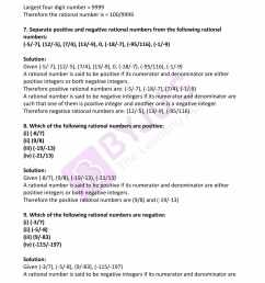 RD Sharma Solutions for Class 7 Maths Chapter 4 - Rational Numbers -  Download free PDF [ 2200 x 1700 Pixel ]