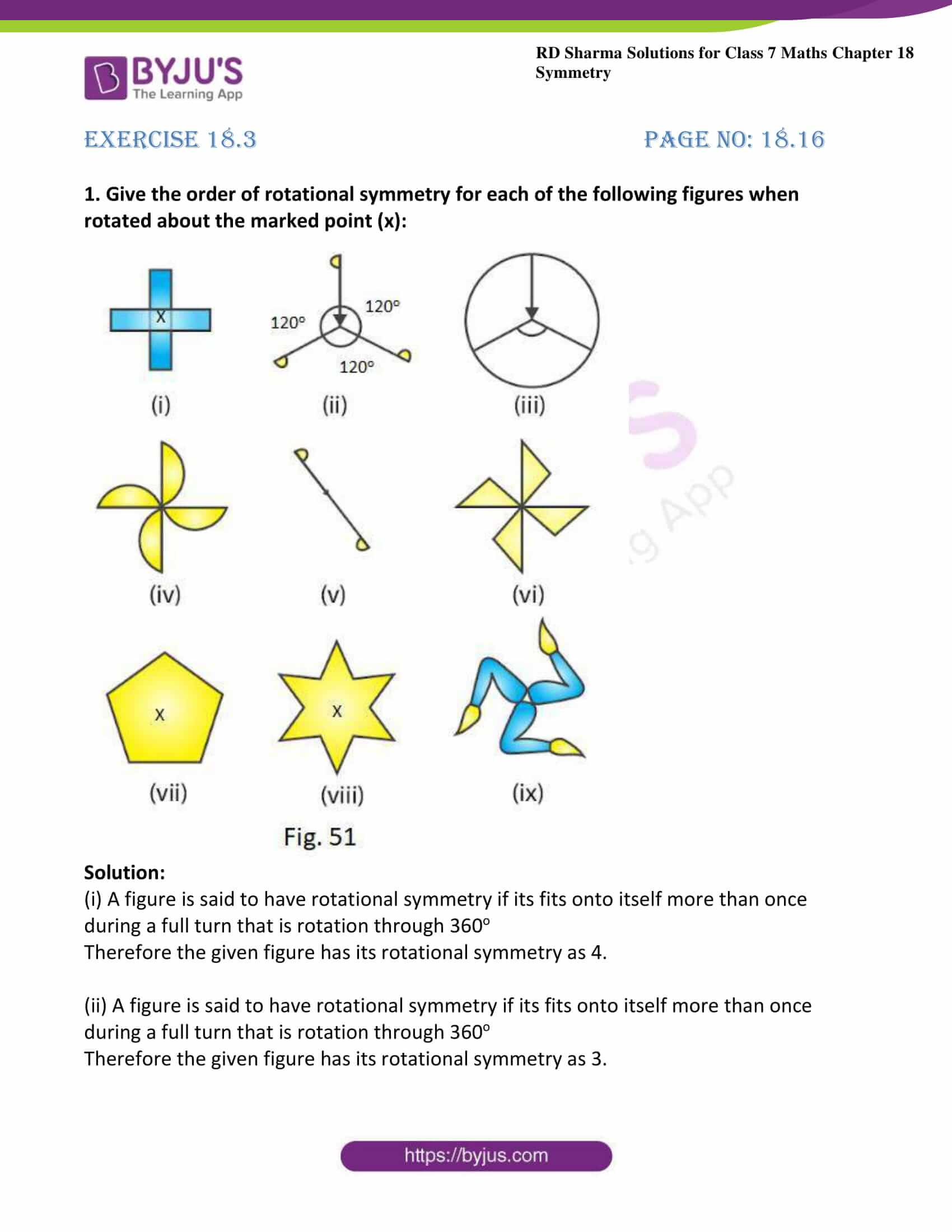 Rotational Symmetry In Alphabets A Z