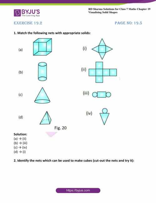 small resolution of RD Sharma Solutions for Class 7 Maths Chapter 19 - Visualising Solid Shapes  - Download free PDF