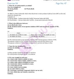 Selina Solutions Class 10 Concise Chemistry Chapter 3 Acids Bases And Salts  -Download Free PDF [ 1000 x 800 Pixel ]