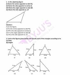 ML Aggarwal Solutions for Class 7 Maths Chapter 11 Triangles and its  Properties click here to download free PDF [ 2200 x 1700 Pixel ]