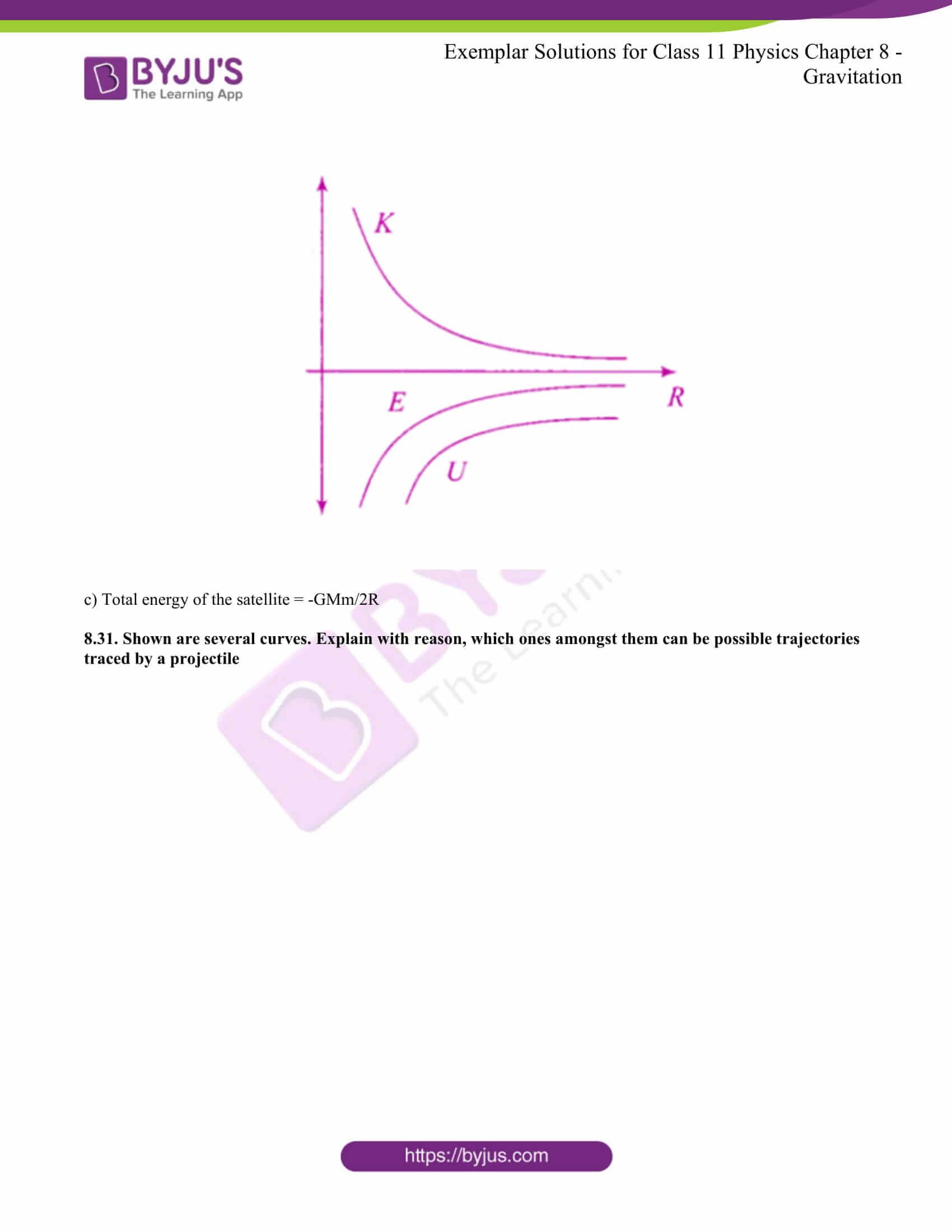 Ncert Exemplar Class 11 Physics Solutions Chapter 8