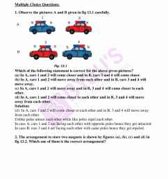 Avail free pdf of NCERT Exemplar Solutions for Class 6 Science Chapter 13 -  Fun with Magnets [ 2200 x 1700 Pixel ]