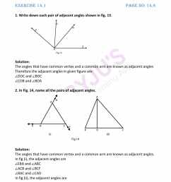 RD Sharma Solutions for Class 7 Maths Chapter 14 - Lines And Angles - Free  PDFs are available here [ 2200 x 1700 Pixel ]