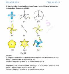 RD Sharma Solutions for Class 7 Maths Chapter 18 - Symmetry Exercise 18.3 -  Get Free PDF [ 2200 x 1700 Pixel ]